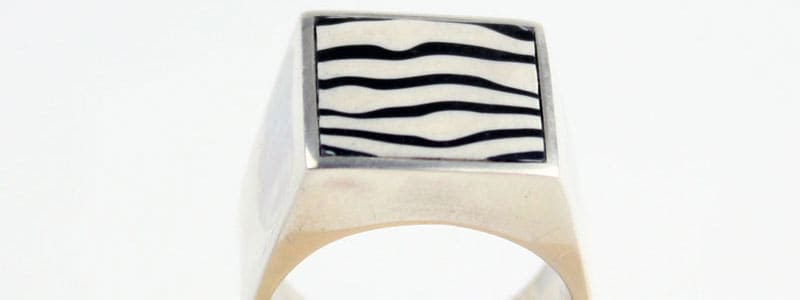 donnellyarts zebra ring