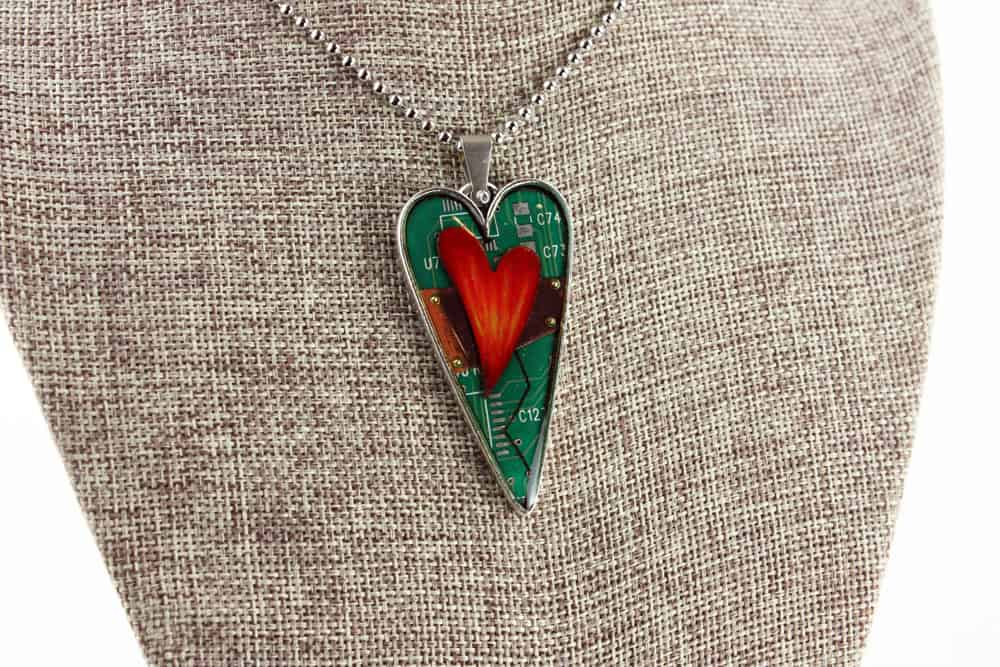 Mended Hearts Pendant